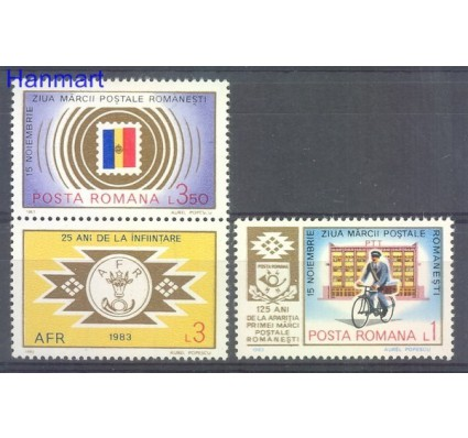 Rumunia 1983 Mi zf 3979 Czyste **