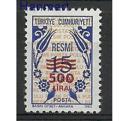 Znaczek Turcja 1989 Mi die 186 Czyste **