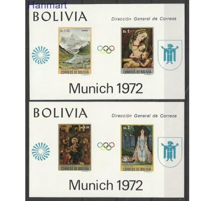 Znaczek Boliwia 1972 Mi bl 34-35 Czyste **