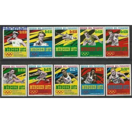 Znaczek Paragwaj 1971 Mi 2139-2148 Czyste **