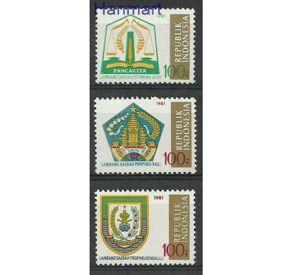 Indonezja 1981 Mi 1027-1029 Czyste **