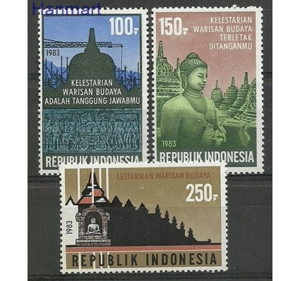 Indonezja 1983 Mi 1085-1087 Czyste **