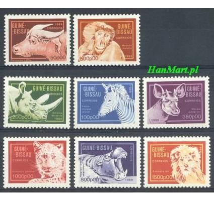 Znaczek Gwinea Bissau 1989 Mi 1096-1103 Czyste **