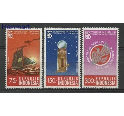 Indonezja 1986 Mi 1198-1200 Czyste **