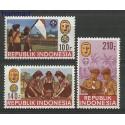 Indonezja 1986 Mi 1201-1203 Czyste **