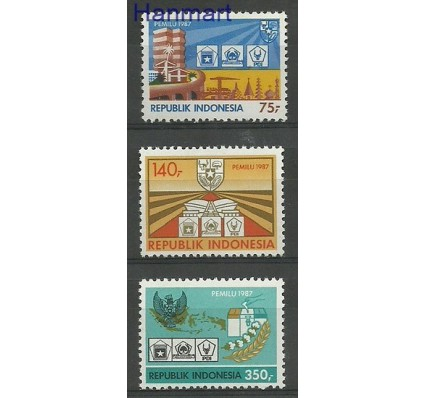 Indonezja 1987 Mi 1217-1219 Czyste **