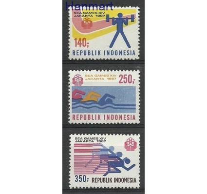 Indonezja 1987 Mi 1228-1230 Czyste **