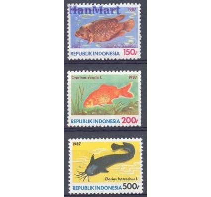 Znaczek Indonezja 1987 Mi 1242-1244 Czyste **