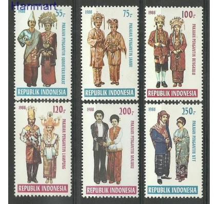 Znaczek Indonezja 1988 Mi 1268-1273 Czyste **