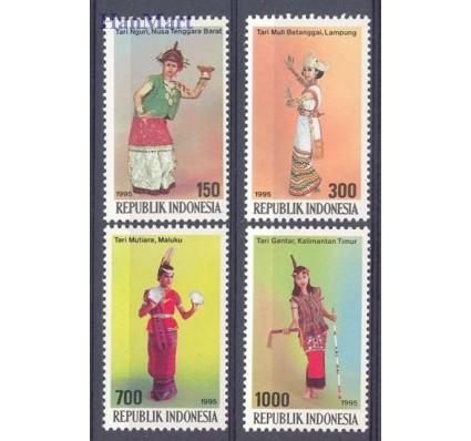 Znaczek Indonezja 1995 Mi 1590-1593 Czyste **