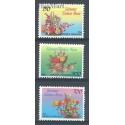 Indonezja 1996 Mi 1654-1656 Czyste **