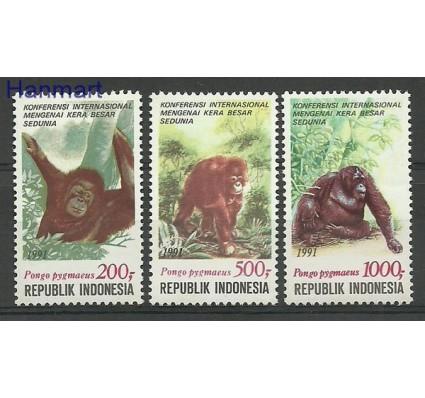 Znaczek Indonezja 1991 Mi 1400-1402 Czyste **