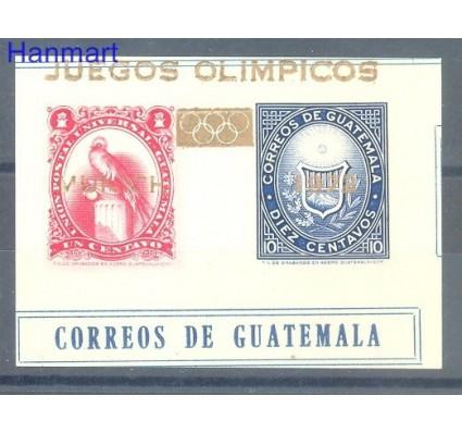 Gwatemala 1972 Mi spebl 13 Czyste **