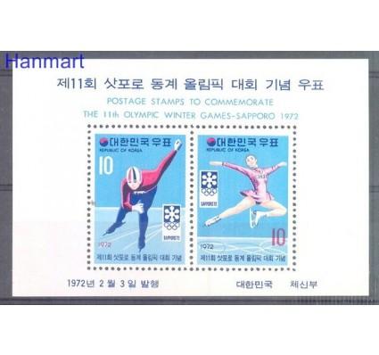 Znaczek Korea Południowa 1972 Mi bl 352 Czyste **