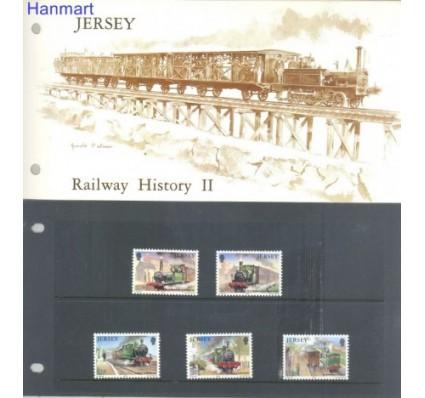 Znaczek Jersey 1985 Mi 355-359 Czyste **