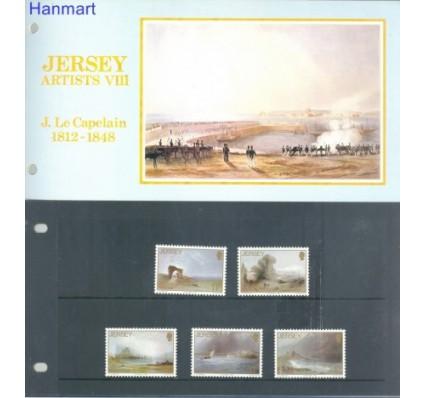 Znaczek Jersey 1987 Mi 420-424 Czyste **