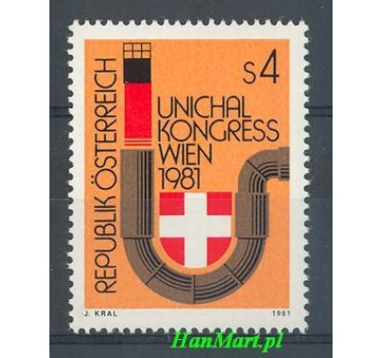 Znaczek Austria 1981 Mi 1669 Czyste **