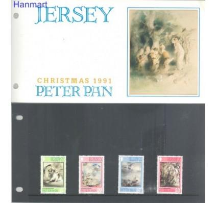 Znaczek Jersey 1991 Mi 559-562 Czyste **