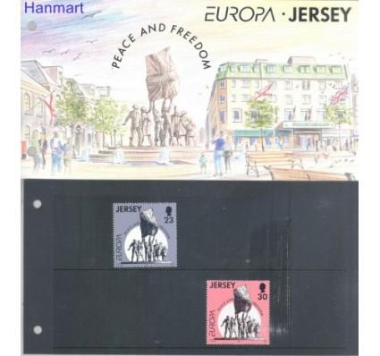 Znaczek Jersey 1995 Mi 693-694 Czyste **