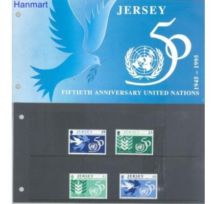Jersey 1995 Mi 719-722 Czyste **