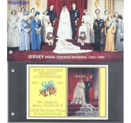 Jersey 1997 Mi bl 16 Czyste **