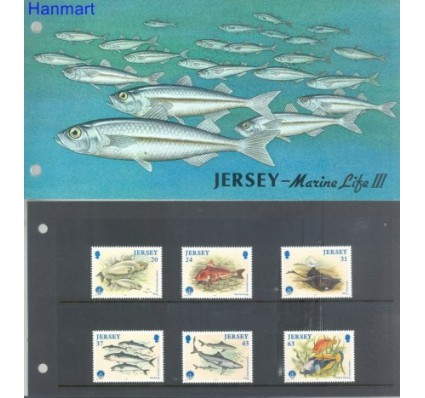 Znaczek Jersey 1998 Mi 849-854 Czyste **