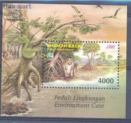 Znaczek Indonezja 2000 Mi bl 160 Czyste **