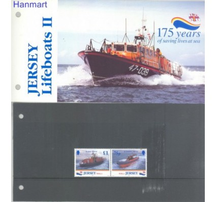 Znaczek Jersey 1999 Mi 871-872 Czyste **