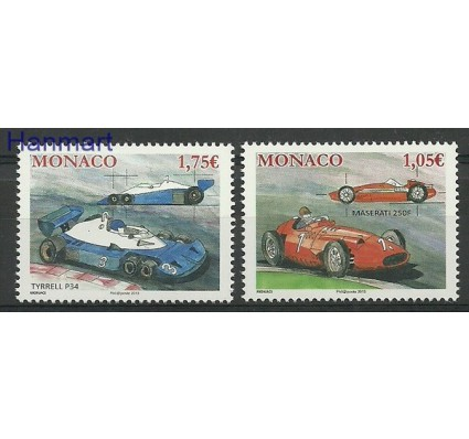 Znaczek Monako 2013 Mi 3126-3127 Czyste **