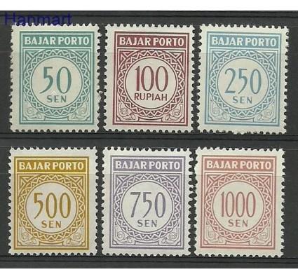 Indonezja 1962 Mi 21-26 Czyste **