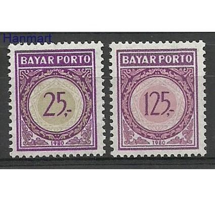 Znaczek Indonezja 1980 Mi 69-70 Czyste **