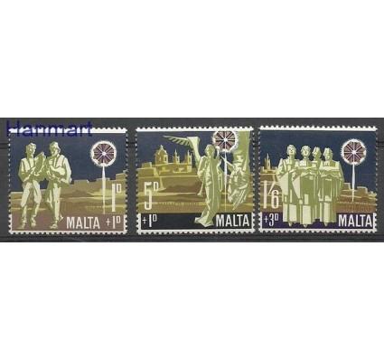 Malta 1969 Mi 398-400 Czyste **