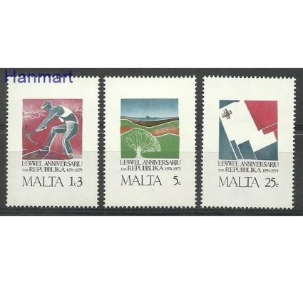 Znaczek Malta 1975 Mi 521-523 Czyste **