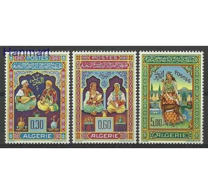 Znaczek Algieria 1965 Mi 441-443 Z podlepką *