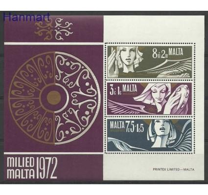 Znaczek Malta 1972 Mi bl 2 Czyste **