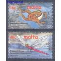 Malta 2001 Mi 1170-1171 Czyste **
