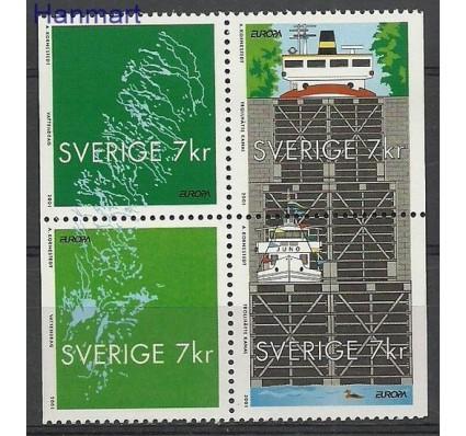 Szwecja 2001 Mi 2232-2235 Czyste **