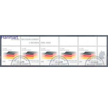 Znaczek Niemcy 2000 Stemplowane