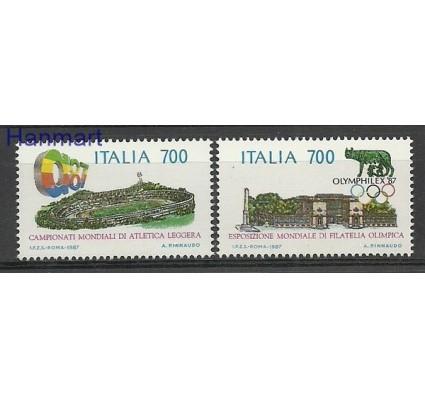 Znaczek Włochy 1987 Mi 2019-2020 Czyste **