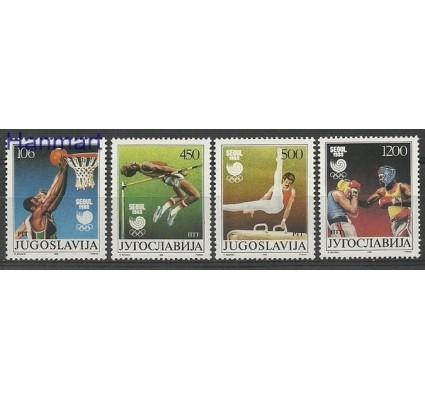 Znaczek Jugosławia 1988 Mi 2267-2270 Czyste **