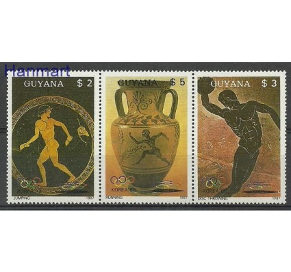 Znaczek Gujana 1987 Mi 2061-2063 Czyste **
