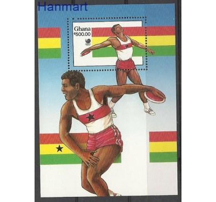 Znaczek Ghana 1988 Mi bl 131 Czyste **