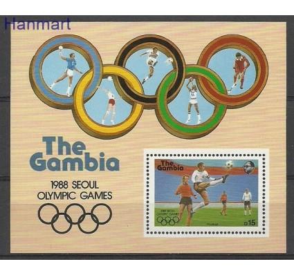 Znaczek Gambia 1987 Mi bl 38 Czyste **