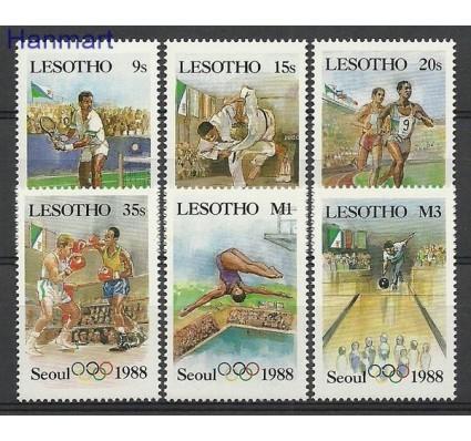 Znaczek Lesotho 1987 Mi 622-627 Czyste **