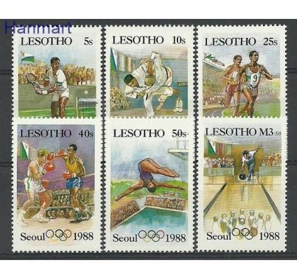 Znaczek Lesotho 1987 Mi 659-664 Czyste **