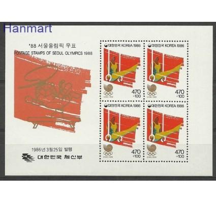 Znaczek Korea Południowa 1986 Mi bl 513 Czyste **