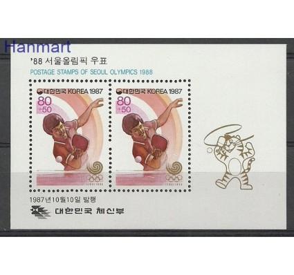 Znaczek Korea Południowa 1987 Mi bl 537 Czyste **