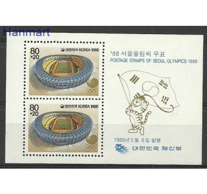 Znaczek Korea Południowa 1988 Mi bl 545 Czyste **