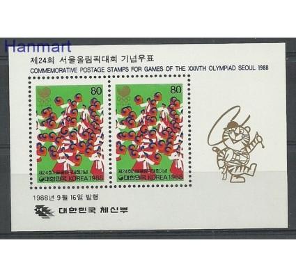 Znaczek Korea Południowa 1988 Mi bl 549 Czyste **
