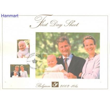 Znaczek Belgia 2002 Mi bl 85 FDC